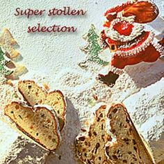 (Dresdner Stollen) A rich, sweet cake filled with fruits and nuts, and Stollen from Dresden are particularly well-known. A very special Christmas treat.