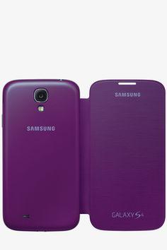 Funda Samsung Galaxy S4 Flip Cover Original - Sirius Purple
