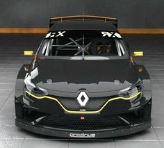 Renault Mégane RX, 2018. Prodrive have announced the start of their partnership with Guerlain Chicherit (GCK) to develop an new rallycross car for the 2018 FIA World Rallycross Championship (World RX)