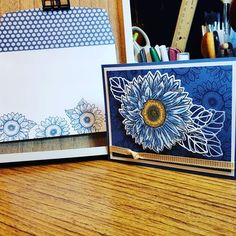 Sunflower Cards, Send A Card, Stampin Up Cards, Birthday Cards, Eye Candy, Card Making, Bloom, Paper Crafts, Celebrities