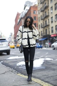 Black and white loveliness: http://www.stylemepretty.com/living/2015/02/19/our-favorite-nyfw-street-style/