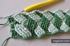 MyPicot is always looking for excellence and intends to be the most authentic, creative, and innovative advanced crochet laboratory in the world. Picot Crochet, Crochet Diagram, Crochet Motif, Crochet Designs, Crochet Stitches, Basket Weave Crochet, Crochet Hooded Scarf, Crochet Angels, Unique Crochet