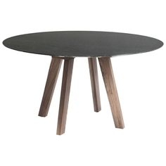 I like this table and maybe even the black.  Too bold?