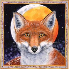 The Fox and the Lunar Eclipse by Sue Wookey