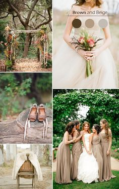 Top 5 Fall Wedding Color Combo Ideas For Autumn Brides 2015