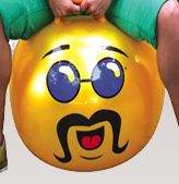 Hoppity Hop Ball Adult Size (yellow)  I am so excited they have these for grown ups too!  I am so getting a set for our family!