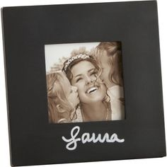 Highlight your favorite memories in playful style with this chalkboard picture frame, perfect displayed atop the mantel or entryway console....