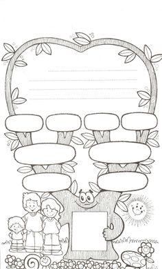 Family Tree Worksheet Printable                                                                                                                                                                                 More