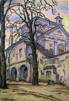 Gates of Dawn - Mstislav Dobuzhinsky