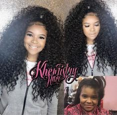 All Piled Up - Curly Hair Styles That Are Perfect for Second-Day Wear - The Trending Hairstyle Weave Ponytail Hairstyles, African Braids Hairstyles, Weave Hairstyles, Girl Hairstyles, Updo, Curly Hair Styles, Natural Hair Styles, Birthday Hairstyles, Hair Laid