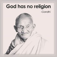 """""""I call him religious who understands the suffering of others."""" ― Mahatma Gandhi"""