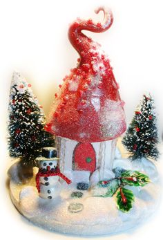Fairy Christmas cottage
