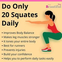 Did you know these benefits about squats? #squats #workout #exercise #fitness Health And Fitness Articles, Fitness Tips, Fitness Motivation, Health Fitness, Fitness Facts, Fitness Memes, Funny Fitness, Fitness Gear, Health Diet