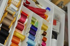 This is my thread and needle drawer.