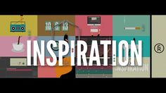 """The bouts of procrastination and productivity that make up the creative process are cleverly depicted in the short animation """"Inspiration"""" by artist Rafa Galeano. via Vimeo Staff Picks Motion Video, Stop Motion, Motion Graphs, Animation Tutorial, Instructional Design, Creative Video, Design Graphique, Inspirational Videos, Grafik Design"""