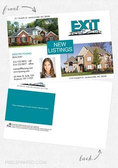 EXIT Real Estate Postcards