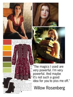 """Willow Rosenberg"" by lexie-ann ❤ liked on Polyvore featuring Aquazzura and Monsoon"
