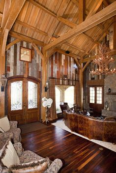 Texas Timber Frames | Residential Ranch Home Photo Gallery