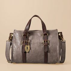 Naked 2 taupe color inspired hues | FOSSIL Maddox Satchel | Women Bag