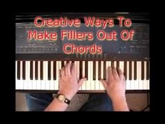 Creative Ways To Make Fillers Out Of Chords
