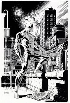 Daredevil. Matching set to the Cap one posted.