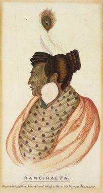 Hall, R :Rangihaeta, Raparahas fighting general and chief actor in the Wairau Massacre [After 1843]