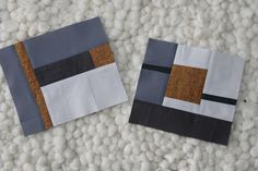 quilt blocks, modern - cool!