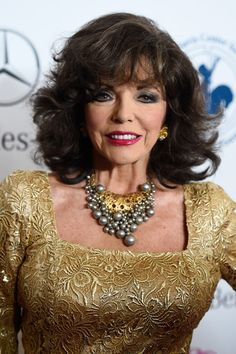 Joan Collins Photos: 2014 Carousel of Hope Ball Presented by Mercedes-Benz - Arrivals