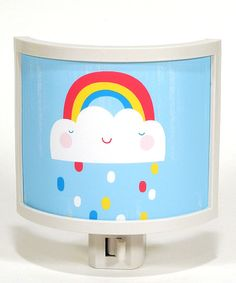 Light up the night with wonder and whimsy. Featuring artwork by Sarah and Colin Walsh, this unique night-light offers a friendly glow that's perfect for keeping those midnight monsters away.