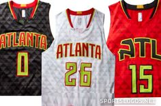 19fea9687 Atlanta Hawks New Uniforms Unveiled  Red