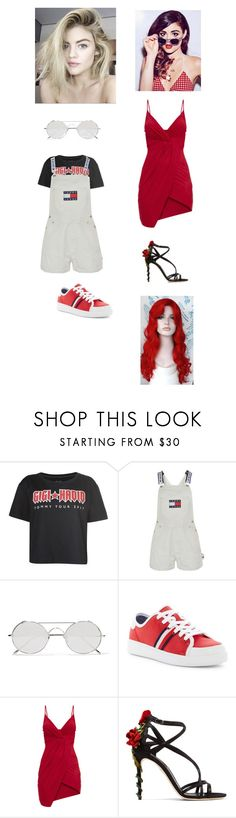 """""""OOTD Julia Kolveylikova"""" by baby-lady-j on Polyvore featuring Tommy Hilfiger, Linda Farrow and Dolce&Gabbana"""
