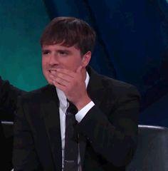 Josh Hutcherson gif - Mockingjay part 2 promo