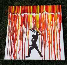 "Crayon Art -- ""Maybe what we need now is a little guy."""