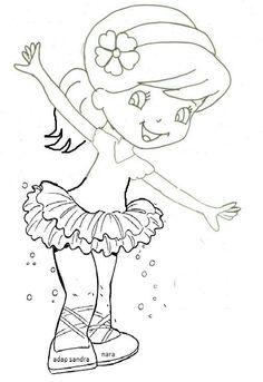 Turma da Moranguinho Bailarina