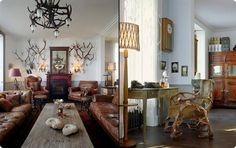 The Cool Hunter - Jura Lodge, Scotland Hunting Lodge Interiors, Isle Of Jura, Scotland Vacation, Interior Decorating, Interior Design, Decorating Ideas, Reception Rooms, Coastal Decor, Home