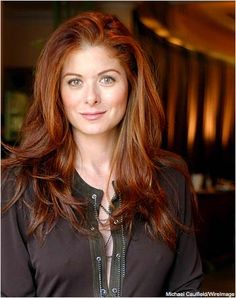 debra messing-hair