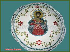 EΡΓΑΣΤΗΡΙΟ ΖΑΧΑΡΟΠΛΑΣΤΙΚΗΣ Decorative Plates, Food And Drink, Easter, Sewing, Tableware, Breads, Greek, Blog, Places