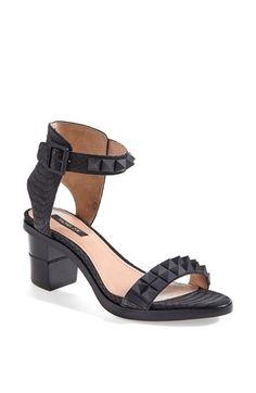 Rachel Zoe 'Colbie' Studded Snakeskin Sandal (Online Only) | Nordstrom