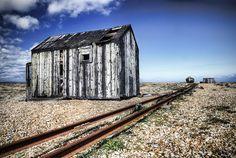 Rusty rails Dungeness