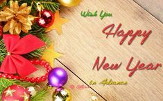 Do you love your friends and family? If yes, then why are you not wishing them Happy New year Advance Wishes 2018. Just grab SMS and send them