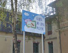 Ecole du Chat Perché - Janzé (35) Signs, Wall Signs, Shop Signs, Sign