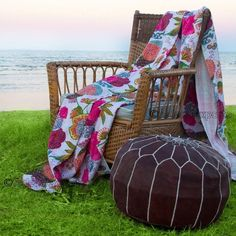 Kantha Quilt Indian Throw Cotton Bedspread Handmade Bedding Duvet Comforter W939 #Handmade #Asian