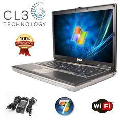 Fast Dell Laptop Latitude Core 2 Duo 4GB WIFI Win 7 DVD/CDRW Computer  Notebook