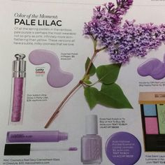 Lucky Magazine Color of the Moment: lilac