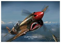 curtis p40n by dugazm.deviantart.com on @deviantART