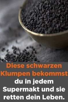 These black lumps you get in every supermakt and s .- Diese schwarzen Klumpen bekommst du in jedem Supermakt und sie retten dein Leben… These black lumps you get in every supermakt and they save your life. Nigella Sativa, Fast Weight Loss, Lose Weight, Exercise To Reduce Thighs, Health Care Reform, Daily Health Tips, Burn Belly Fat Fast, Healthy Food Delivery, Naturopathy