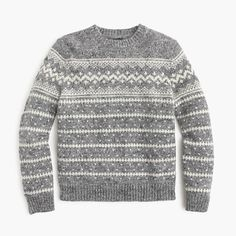 THOM BROWNE Navy Fair Isle Hector Sweater. #thombrowne #cloth ...