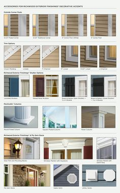 Images about home exterior ideas on pinterest exterior window trims