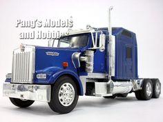 Kenworth W900 Semi Truck Die Cast Metal 1/32 Scale Model by NewRay
