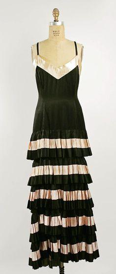 1930 black dress